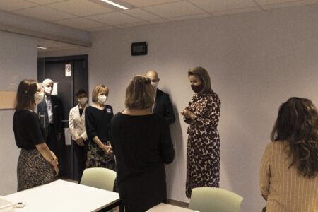 Koningin Mathilde bezoekt Centrum voor de Evaluatie van Vaccinaties (44).JPG