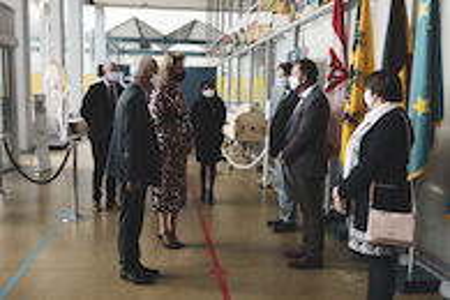 Koningin Mathilde bezoekt Centrum voor de Evaluatie van Vaccinaties (20).JPG