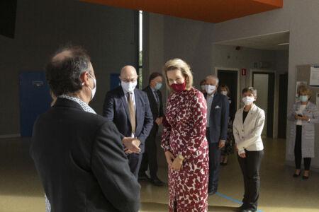 Koningin Mathilde bezoekt Centrum voor de Evaluatie van Vaccinaties (49).JPG