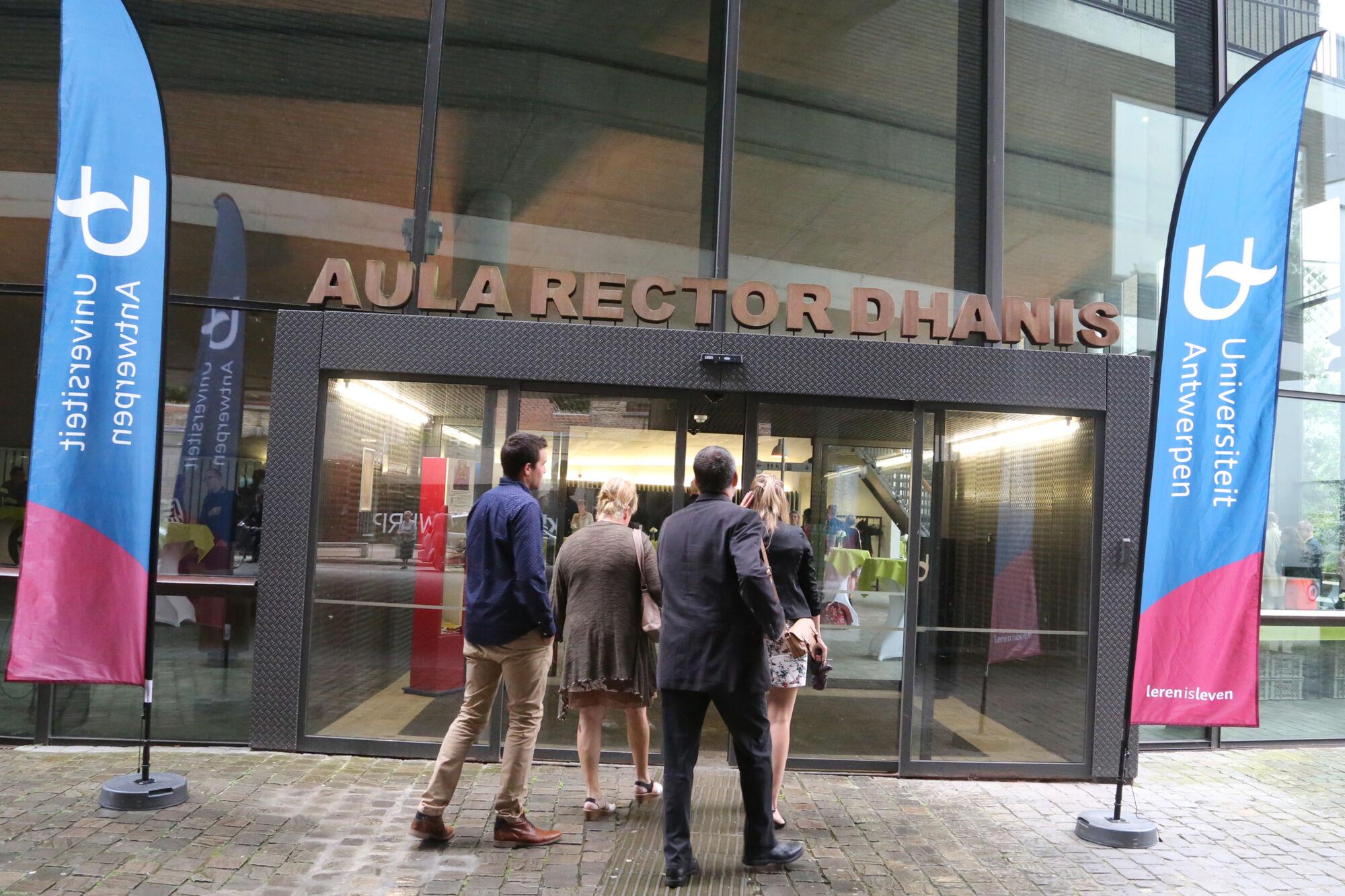Proclamatie Antwerp School of Education 2016