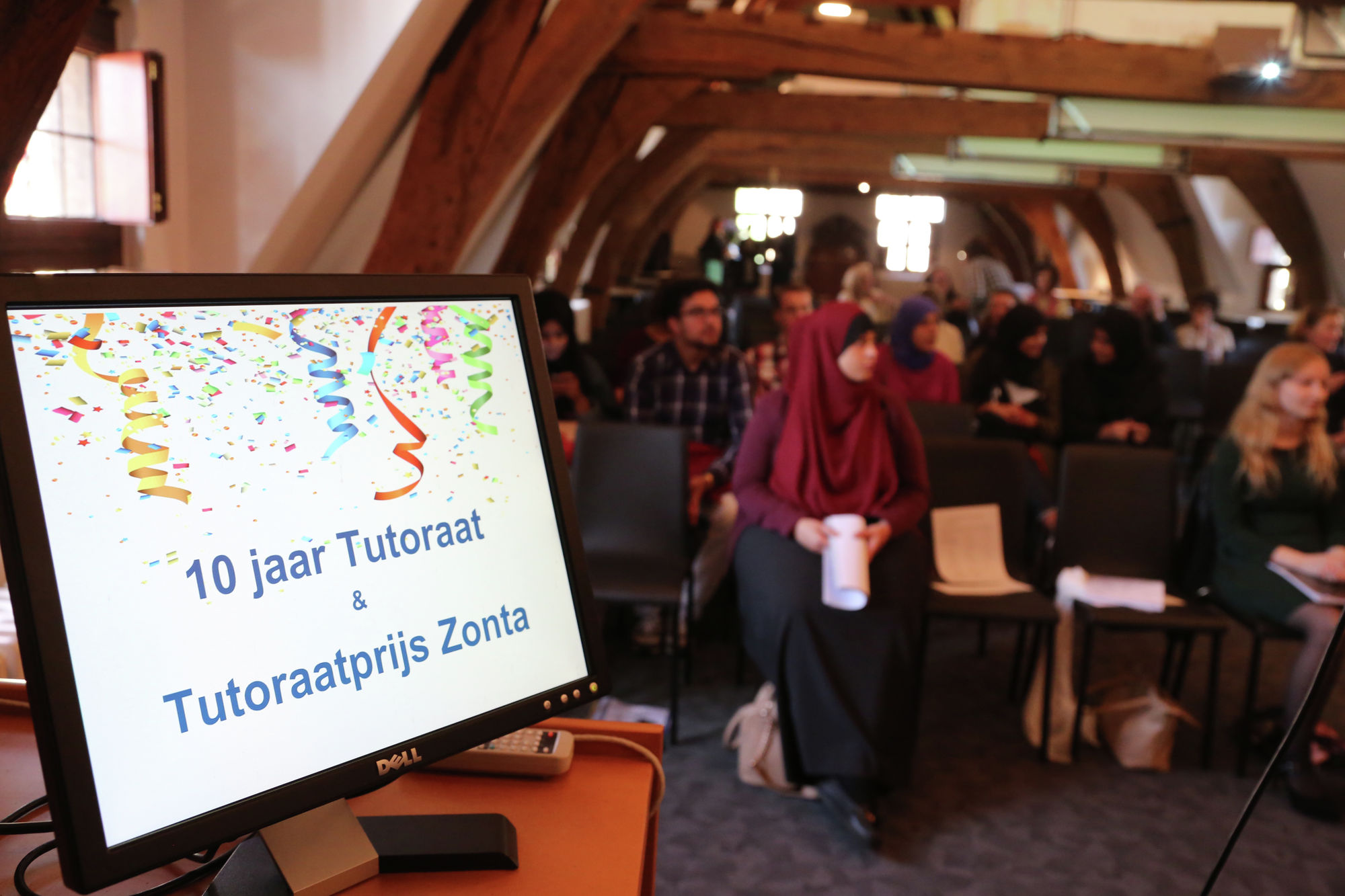Viering 10 jaar Tutoraatproject en Zonta prijsuitreiking