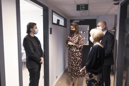 Koningin Mathilde bezoekt Centrum voor de Evaluatie van Vaccinaties (25).JPG