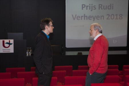 Uitreiking Prijs Rudi Verheyen 2017