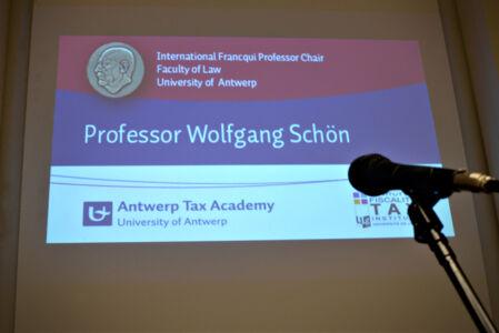 Slotsymposium Francqui-leerstoel Wolfgang Schön