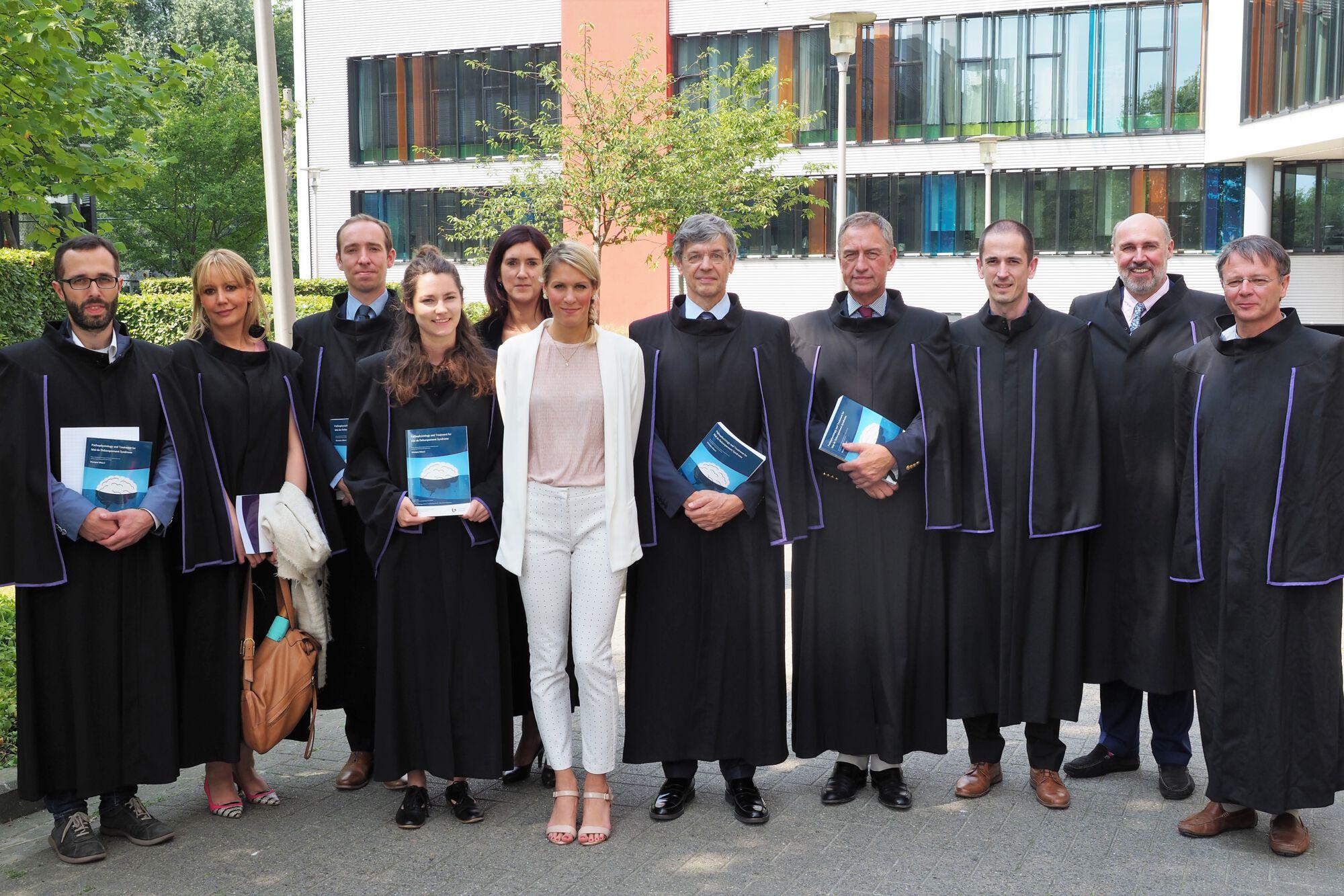 Doctoraatsverdediging Viviana Mucci - 4 juli 2018
