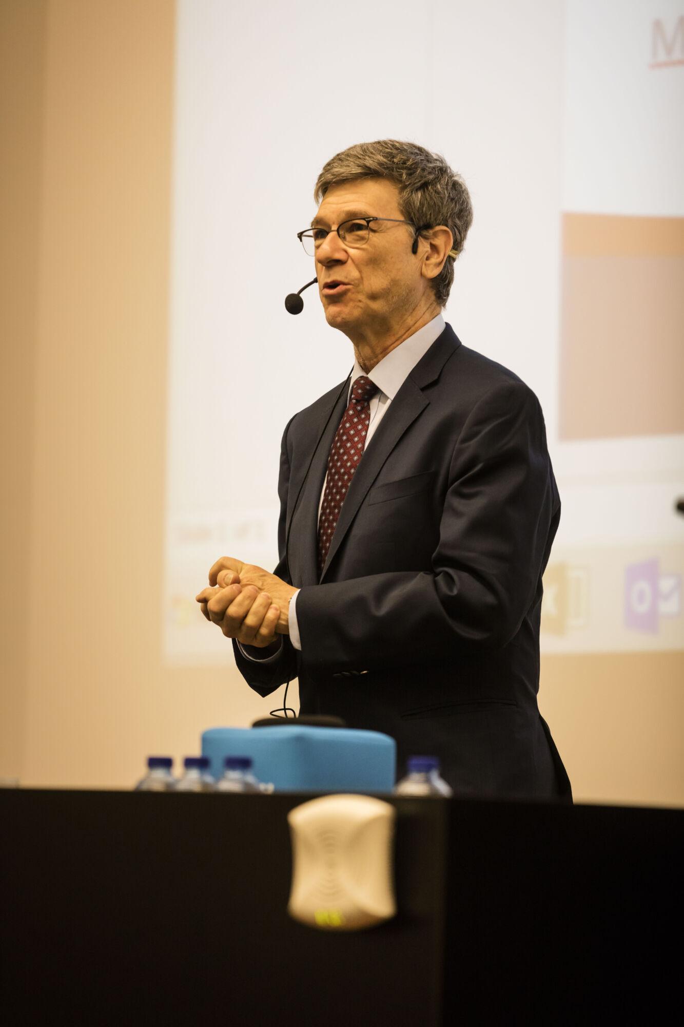 Masterclass Jeffrey Sachs 2018