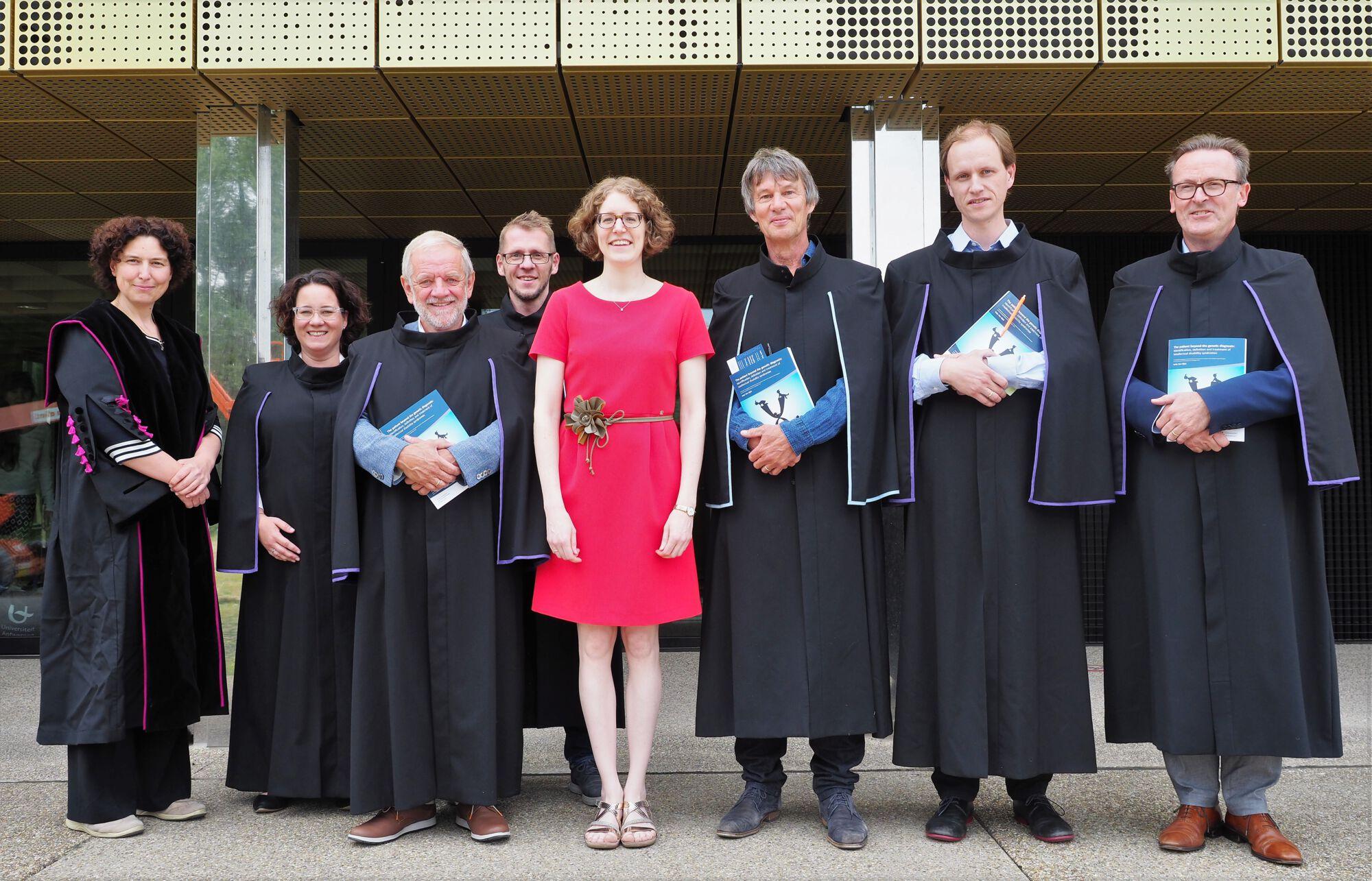 Doctoraatsverdediging Anke Van Dijck - 9 juli 2019