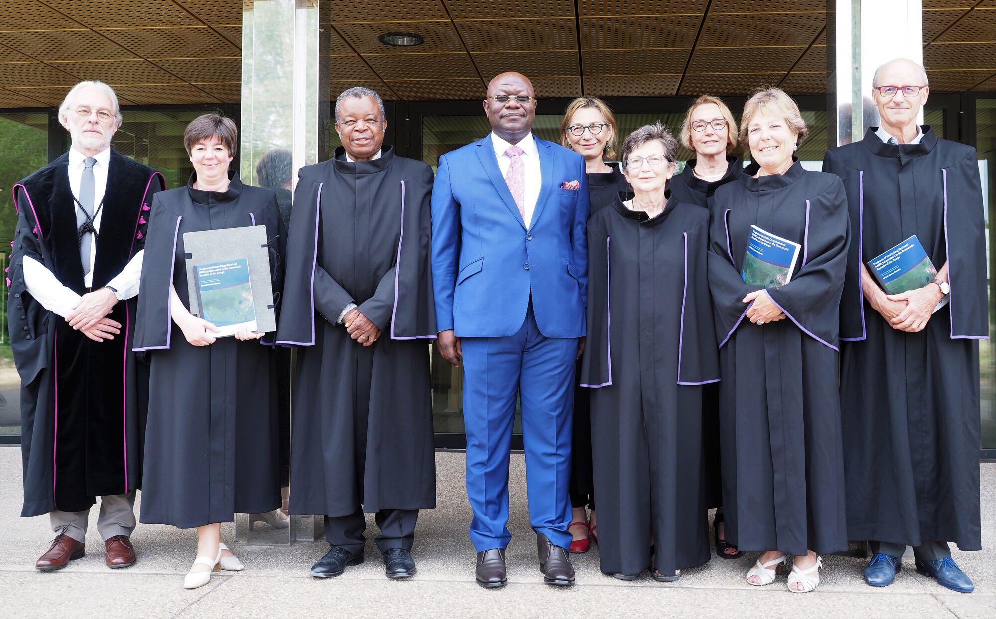 Doctoraatsverdediging Michel Kaswa Kayomo - 6 juli 2018