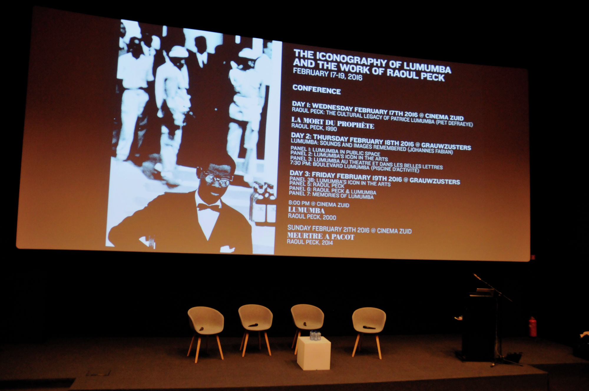 The Iconography of Lumumba and the work of Raoul Peck