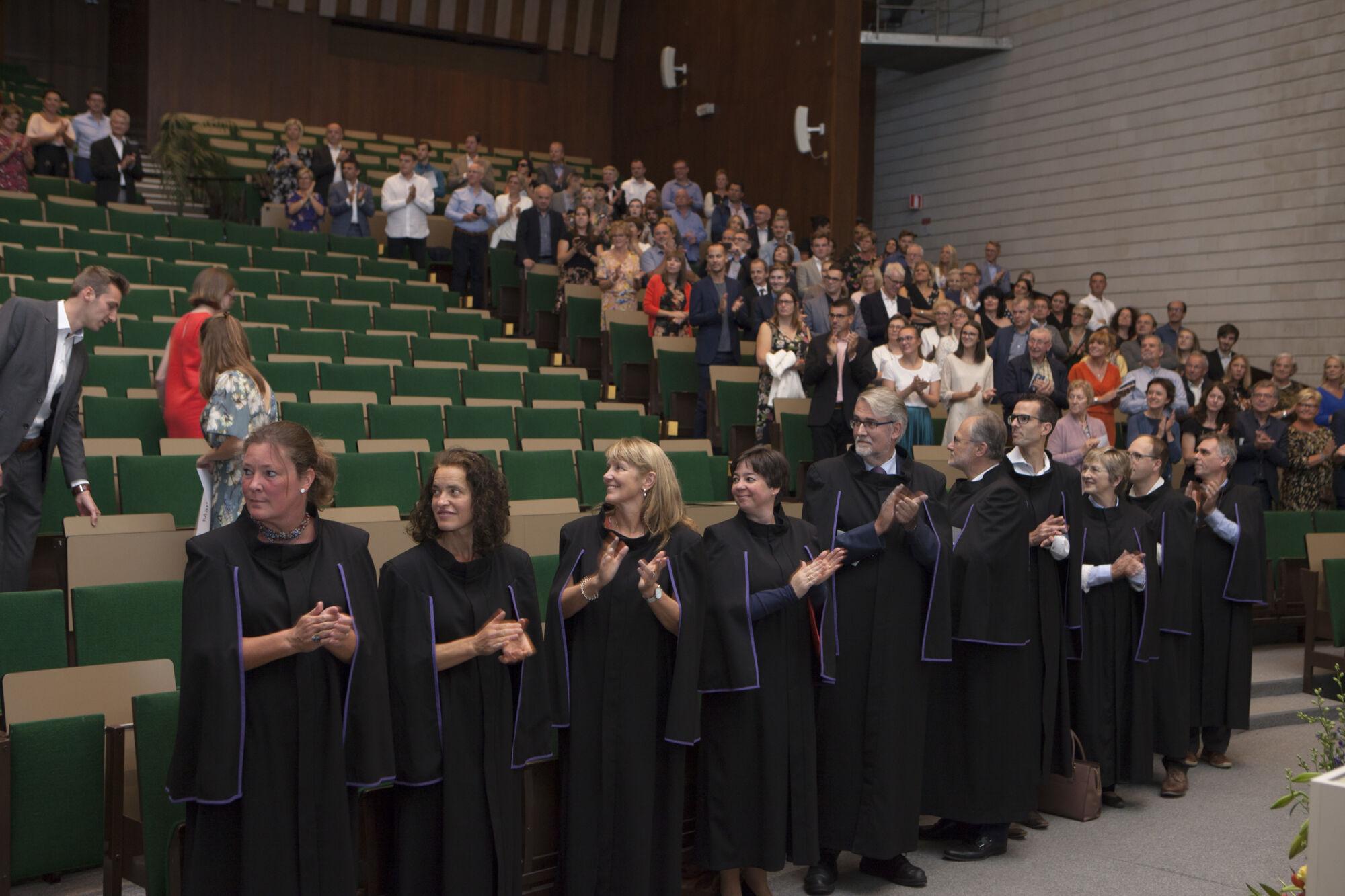 Proclamatie bachelor geneeskunde 2018