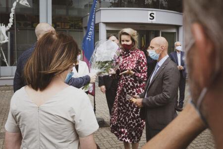 Koningin Mathilde bezoekt Centrum voor de Evaluatie van Vaccinaties (64).JPG