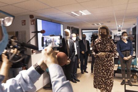 Koningin Mathilde bezoekt Centrum voor de Evaluatie van Vaccinaties (48).JPG