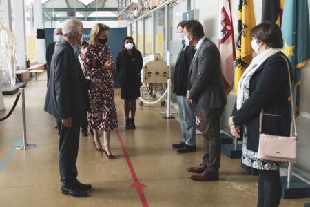 Koningin Mathilde bezoekt Centrum voor de Evaluatie van Vaccinaties (19).JPG