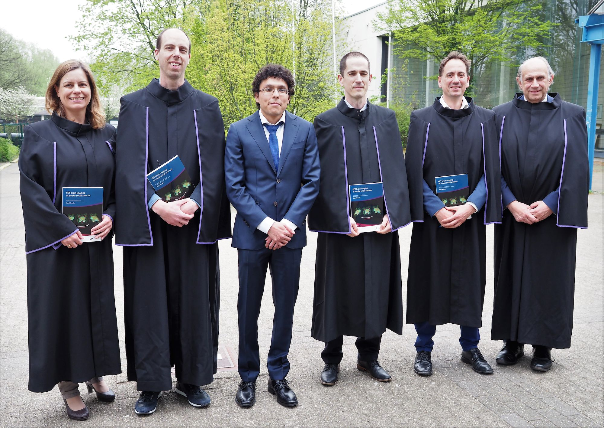 Doctoraatsverdediging Alan Miranda - 17 april 2019