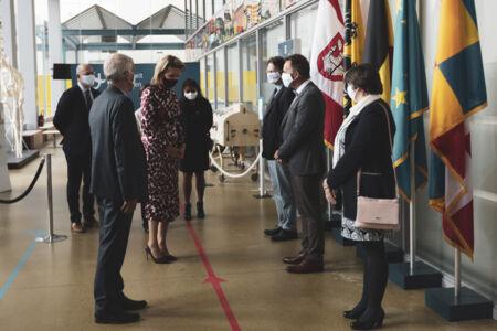 Koningin Mathilde bezoekt Centrum voor de Evaluatie van Vaccinaties (21).JPG