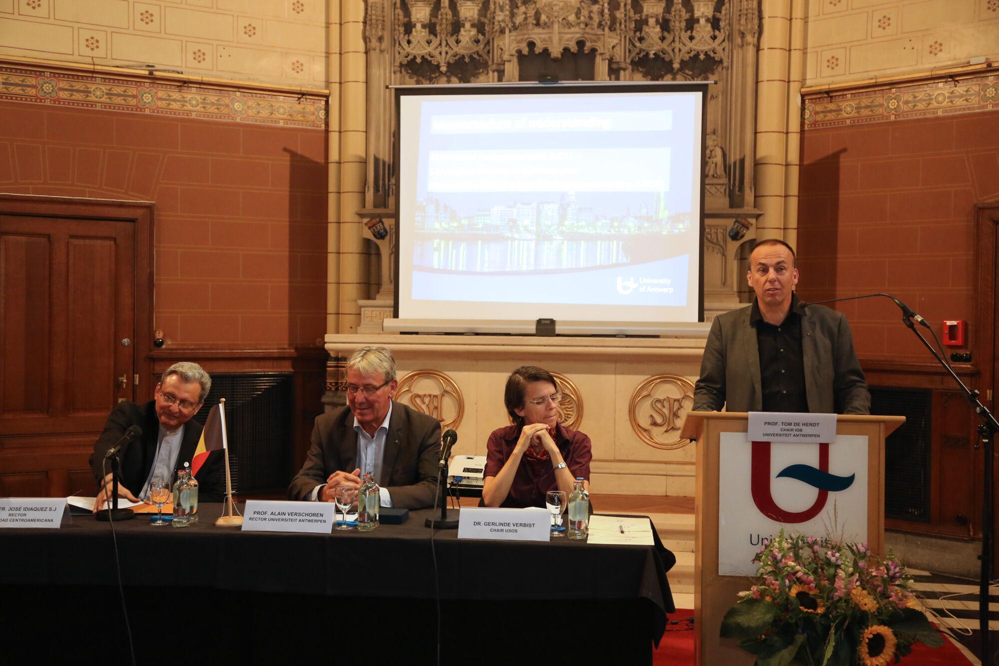 Cooperation agreement University of Nicaragua  (UCA)