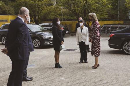 Koningin Mathilde bezoekt Centrum voor de Evaluatie van Vaccinaties (4).JPG
