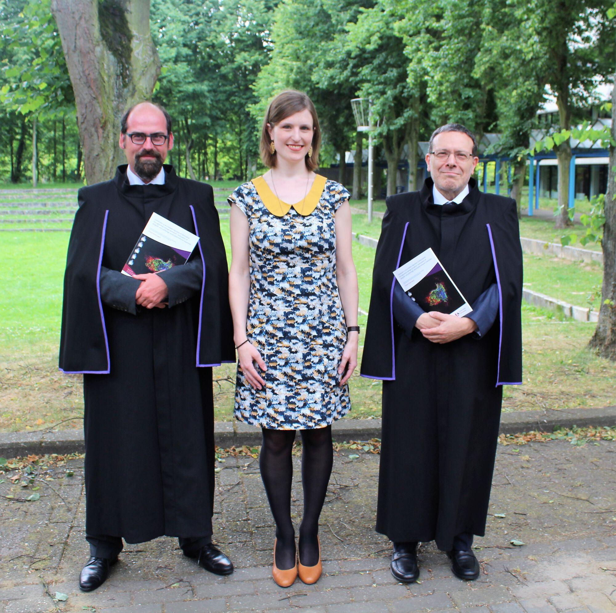 Doctoraatsverdediging Chloé Hoornaert - 8 juni 2017