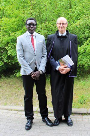 Doctoraatsverdediging George Abongomera - 21 April 2017