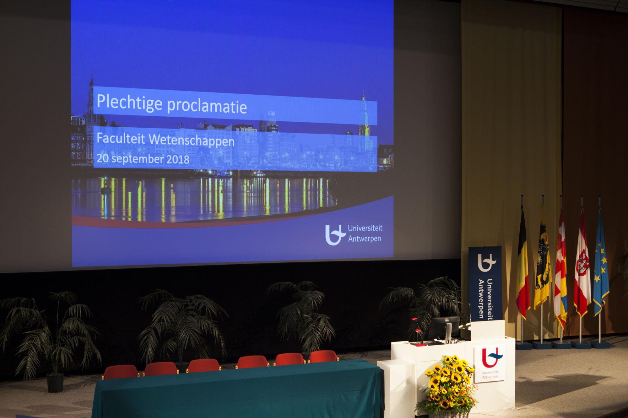 Proclamatie Wetenschappen 2018
