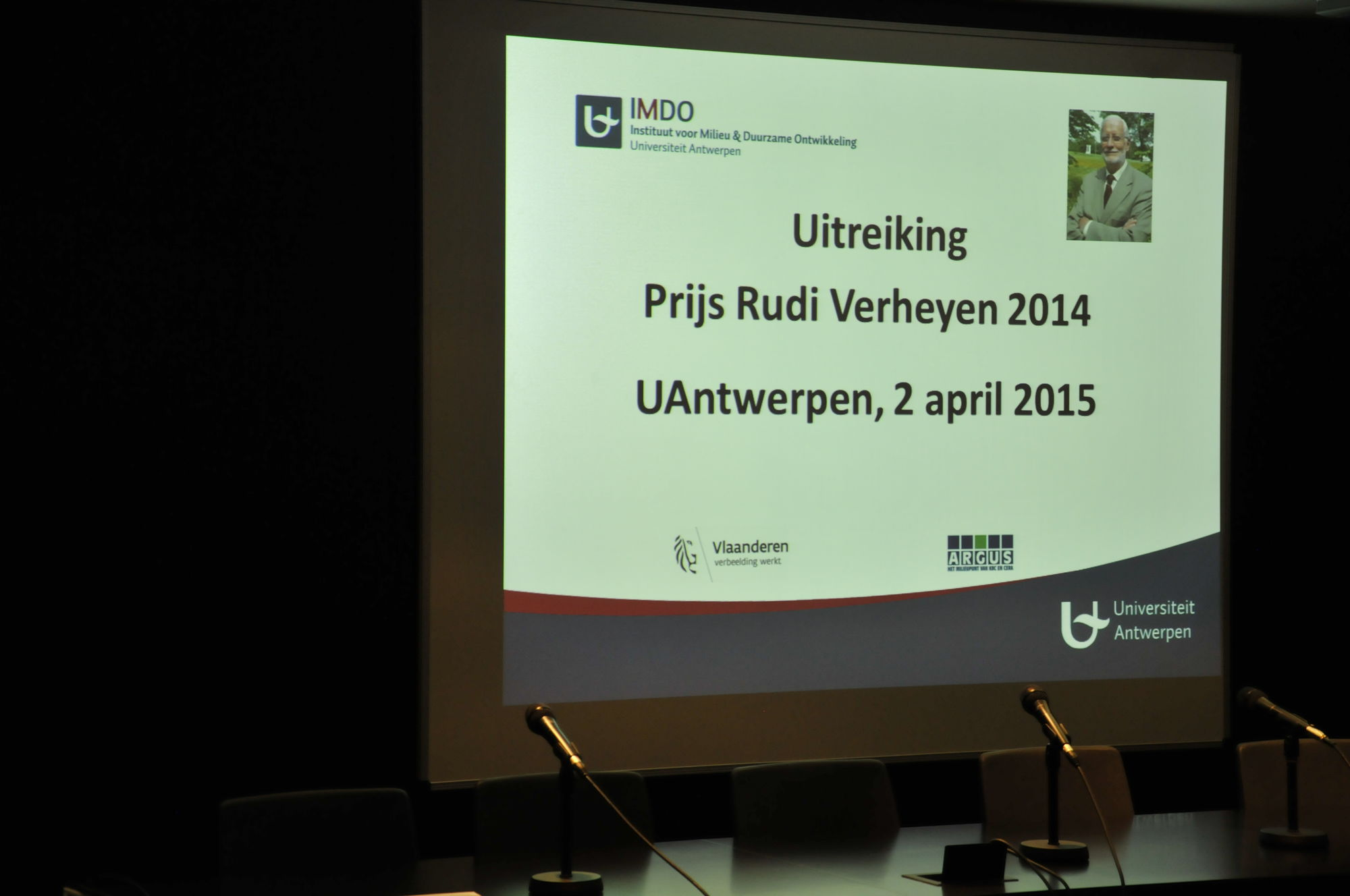 Prijs Rudi Verheyen 2014
