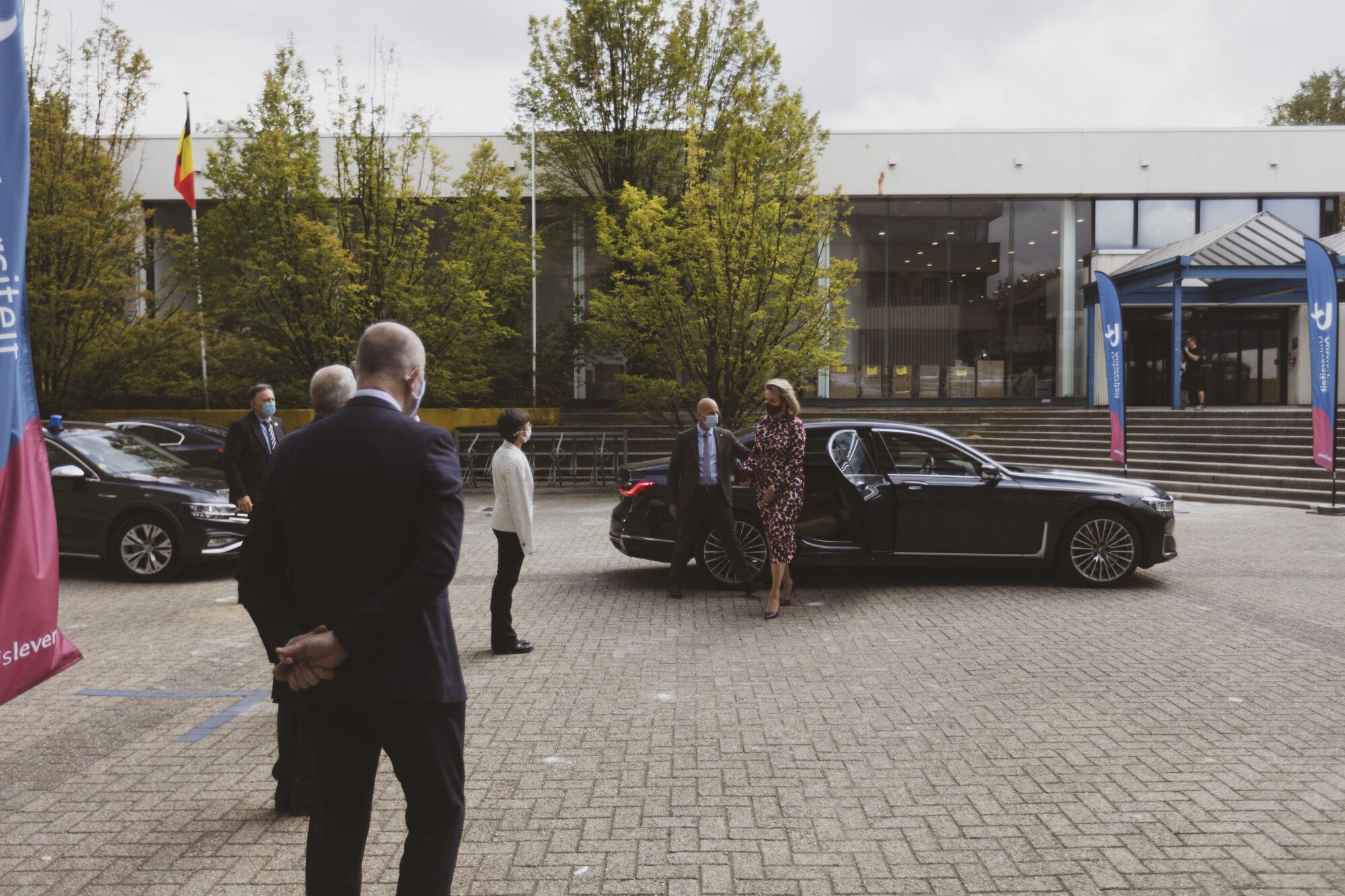 Koningin Mathilde bezoekt Centrum voor de Evaluatie van Vaccinaties