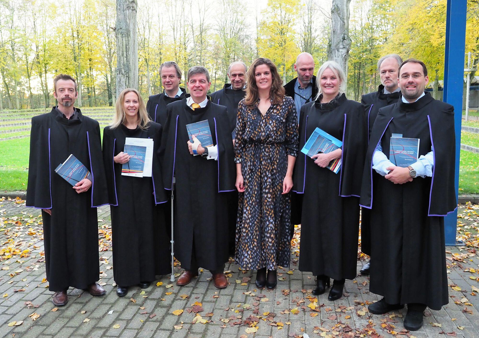 Doctoraatsverdediging Tine Vertommen - 17 november 2017