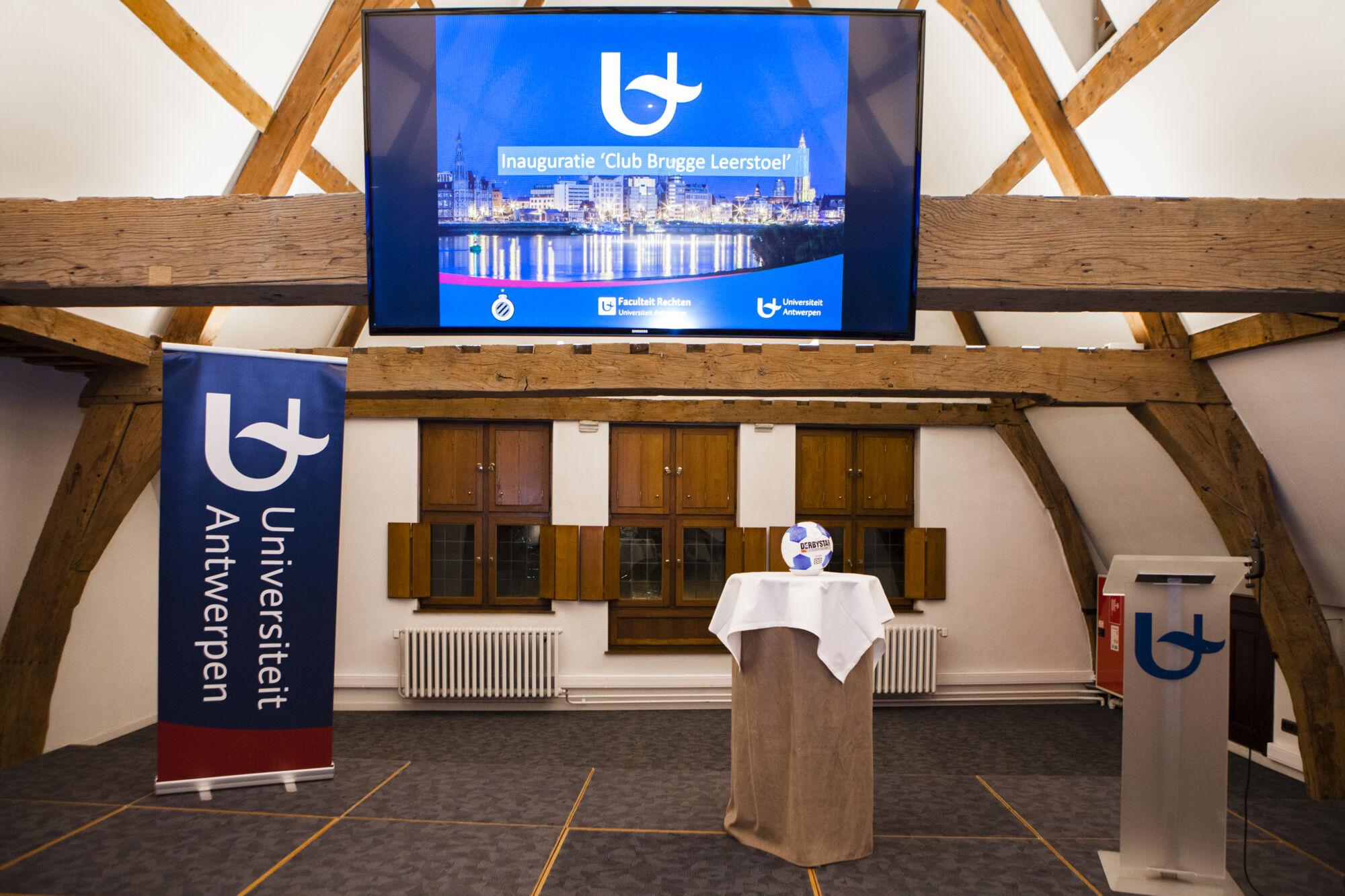 Inauguratie Leerstoel Club Brugge