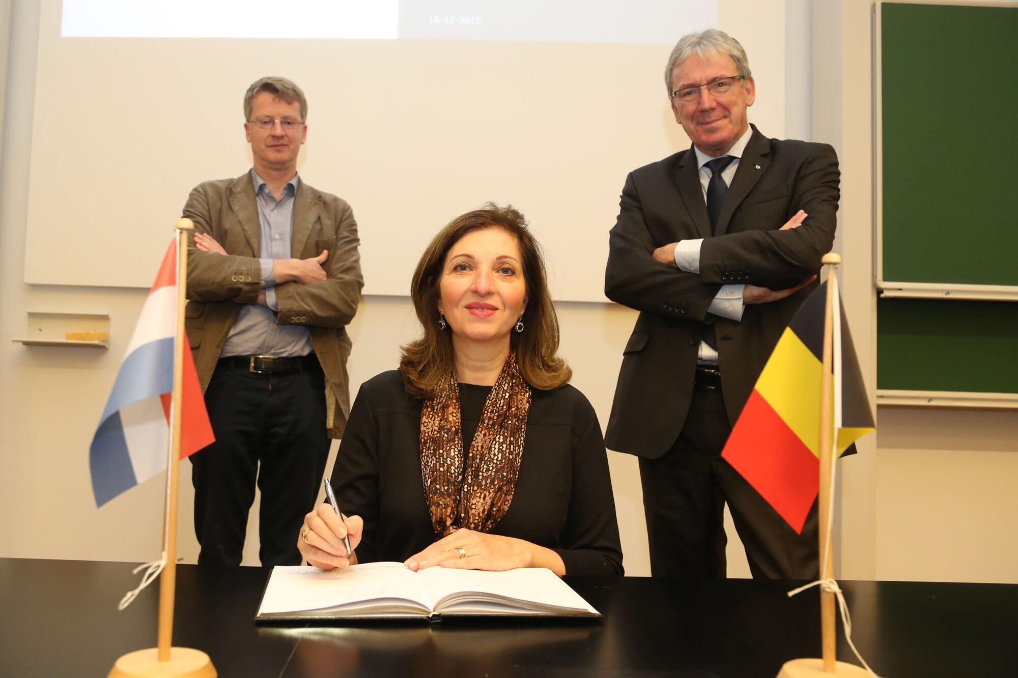 Bezoek ambassadrice van het Koninkrijk der Nederlanden