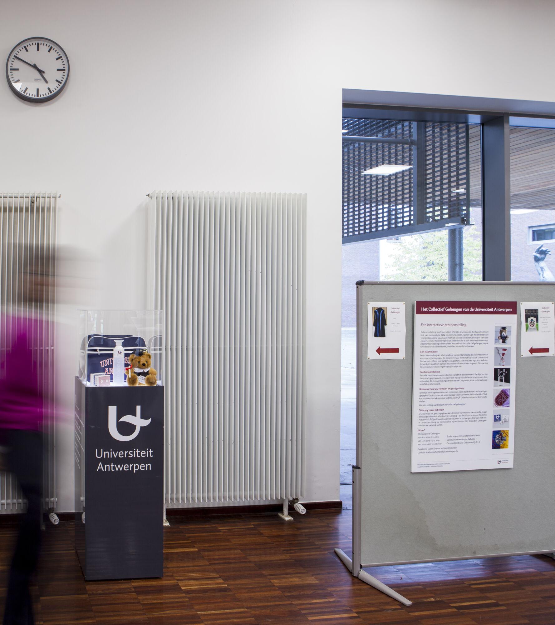 Het Collectief Geheugen van de Universiteit Antwerpen (opening expo)